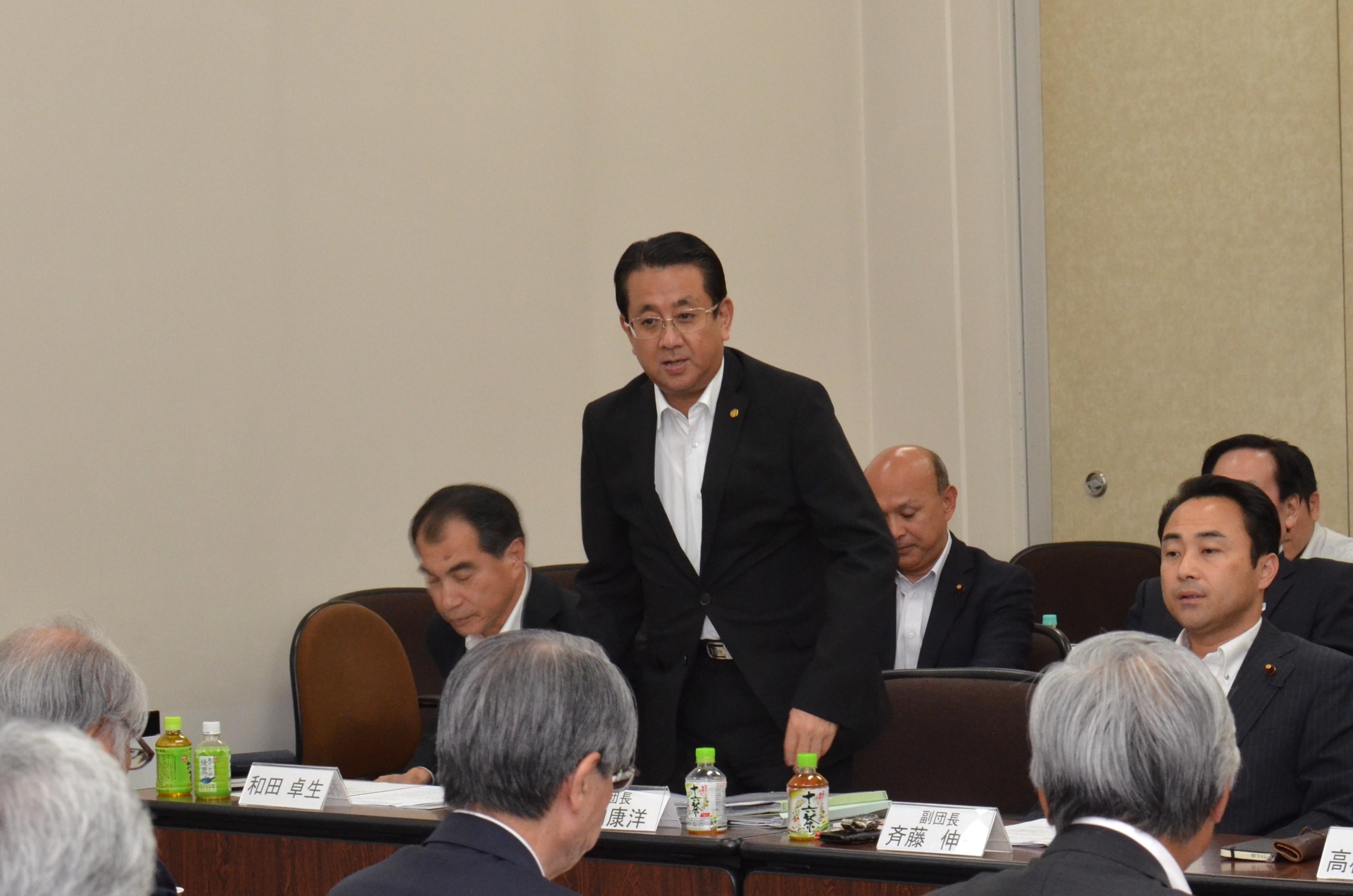 横浜市公明党 政策懇談会