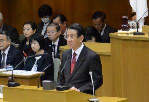 平成29年第4回定例会が開会 議案関連質疑