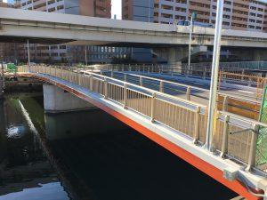 本橋梁架替事業 新浦島橋が開通