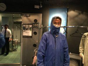 東京 本所都民防災教育センターを視察。