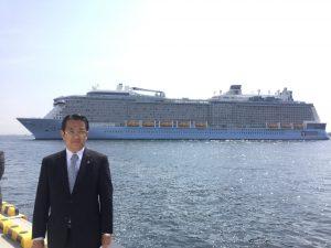 大黒ふ頭客船ターミナル & スカイウォーク を視察
