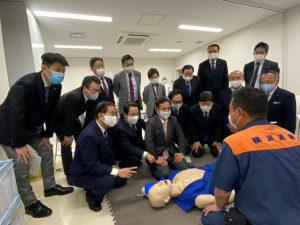 横浜市救急ワークステーションを視察