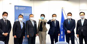 FAO国連食糧農業機関 駐日所長を表敬
